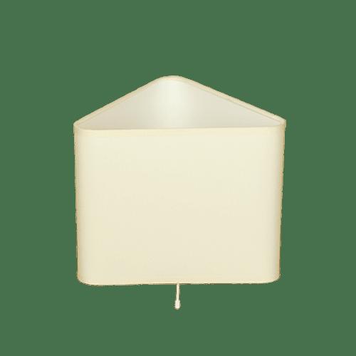 Настолна лампа МОНЦА крем, абажур Шинц Крем, 1xE27