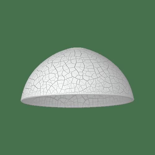 Пенделно стъкло 1006-A-10-WH, ø300, h=130, Е27