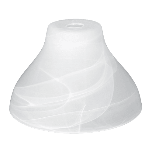 Пенделно стъкло 1039-ALB, ø320, h=200, Е27