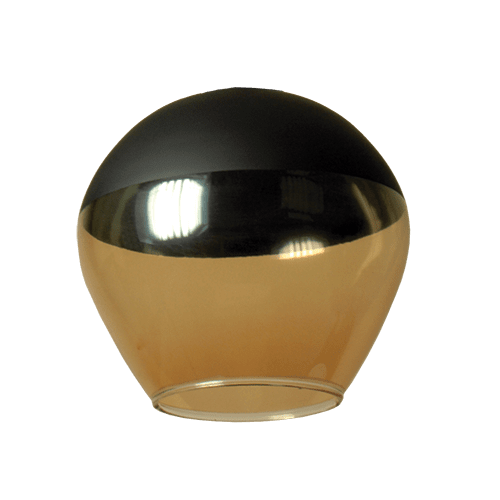 Пенделно стъкло 123-A-5-62, ø200, h=190, Е27
