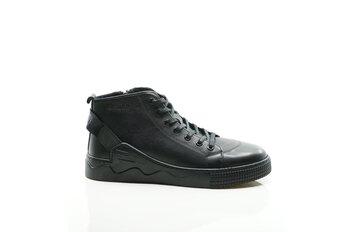 Мъжки обувки - Ежедневни черни боти от естествена кожа