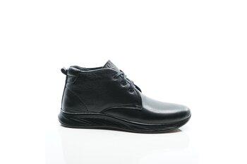 Мъжки обувки - Черни боти от естествена кожа