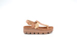 Ежедневни розови дамски сандали от естествена кожа 42.205