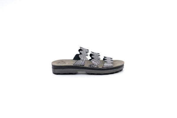 Дамски черни чехли от естествена кожа 42.9012