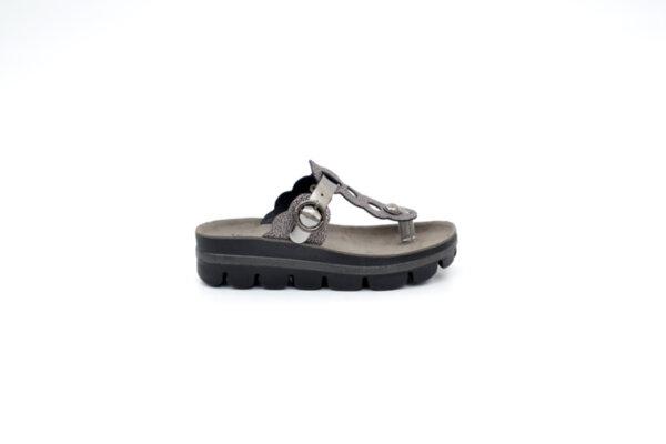 Ежедневни черни дамски чехли от естествена кожа 42.204