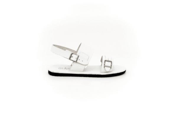 Мъжки бели сандали от естествена кожа 13.1990