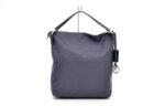 Дамска синя чанта от естествена кожа 16.2440