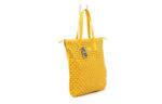 Дамска жълта чанта от естествена кожа 16.205