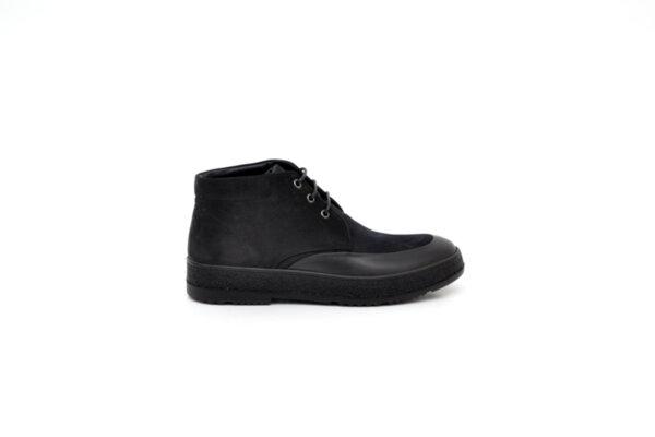 Ежедневни черни мъжки боти от естествен набук 14.91751