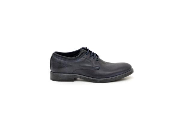 Ежедневни сини мъжки обувки от естествена кожа 15.1310