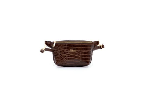 Дамска кафява чанта от еко кожа 17.2197