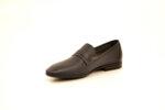 Ежедневни сини мъжки обувки от естествена кожа 18.27500