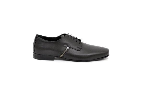 Ежедневни черни мъжки обувки от естествена кожа 11.8562