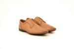 Ежедневни бежови мъжки обувки от естествена кожа 18.27552