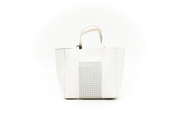 Дамска бяла чанта от еко кожа 44.19250