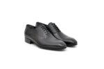 Елегантни черни мъжки обувки от естествена кожа 18.1552