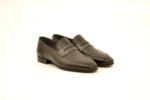 Елегантни сиви мъжки обувки от естествена кожа 18.650