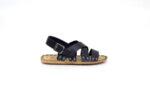 Мъжки сини сандали от естествена кожа 13.1716
