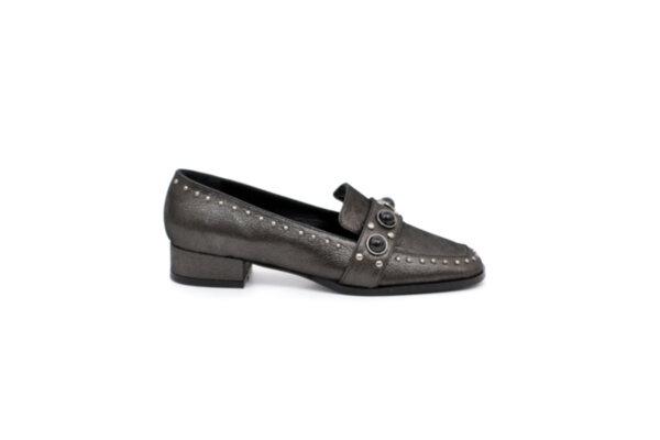Ежедневни черни дамски обувки от естествена кожа 01.1253
