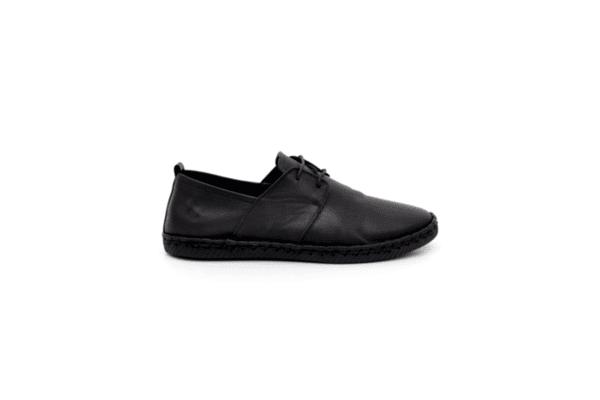Ежедневни черни мъжки обувки от естествена кожа 55.207