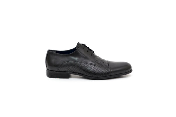 Елегантни черни мъжки обувки от естествена кожа 18.29250
