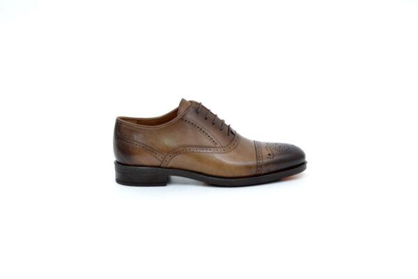 Елегантни камелени дамски обувки от естествена кожа 18.28259