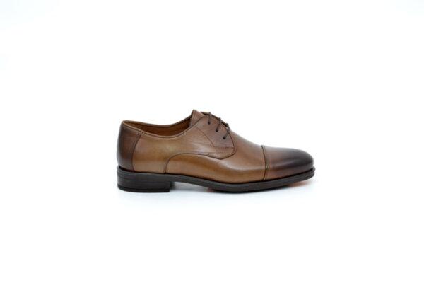 Елегантни камелени мъжки обувки от естествена кожа 18.28288