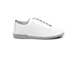 Спортни бели дамски обувки от естествена кожа 06.40