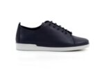 Спортни сини дамски обувки от естествена кожа 06.408