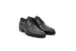 Елегантни черни мъжки обувки от естествена кожа 18.3557