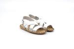 Мъжки бели сандали от естествена кожа 13.1716