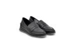 Ежедневни черни дамски обувки от естествена кожа 56.710
