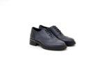 Ежедневни сини дамски обувки от естествена кожа 10.32178