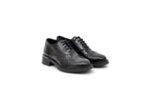 Ежедневни черни дамски обувки от естествена кожа 10.32178