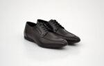 Ежедневни черни мъжки обувки от естествена кожа 11.7944