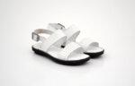 Мъжки бели сандали от естествена кожа 28.405