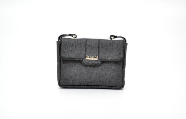 Дамска черна чанта от еко кожа 34.0403