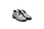 Ежедневни сиви дамски обувки от естествена кожа 29.12000