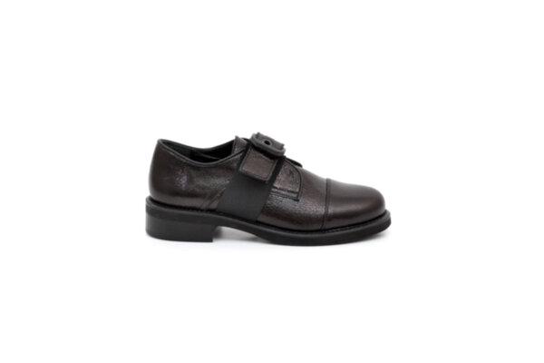 Ежедневни черни дамски обувки от естествена кожа 29.12006