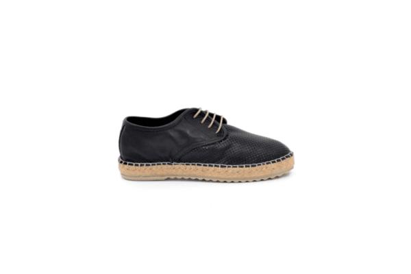 Ежедневни черни дамски обувки от естествена кожа 32.7666