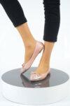 Ежедневни розови дамски обувки от естествена кожа 32.4013
