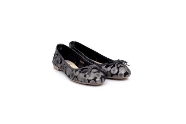 Ежедневни черни дамски обувки от естествена кожа 32.6021