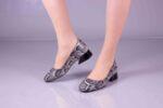 Ежедневни бежови дамски обувки от естествена кожа 29.11002