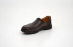 Ежедневни кафяви мъжки обувки от естествена кожа 18.22103