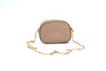 Дамска бежова чанта от текстил 47.44783