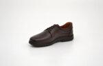 Ежедневни кафяви мъжки обувки от естествена кожа 18.22107