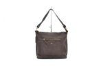 Дамска кафява чанта от естествена кожа 16.09