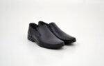 Ежедневни сини мъжки обувки от естествена кожа 18.22650