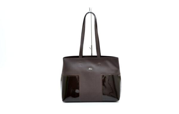 Дамска кафява чанта от естествена кожа 16.705