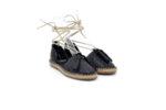 Ежедневни черни дамски обувки от естествена кожа 56.601